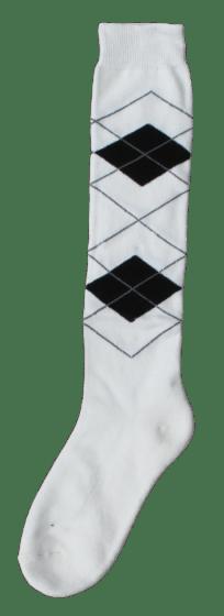 Excellent Kniestrümpfe RE b.weiß / schwarz 43-46