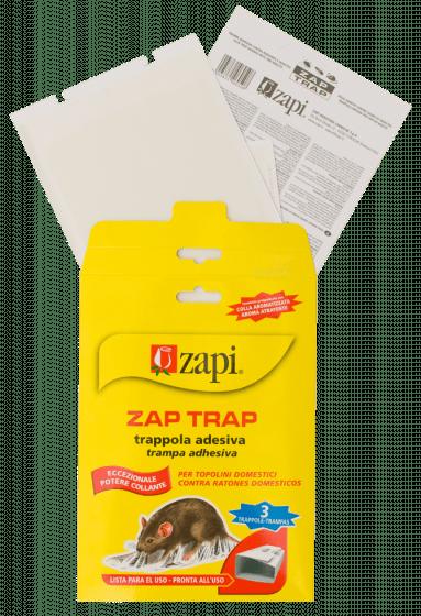 Zapi Zap Trap Kleber für Mäuse & amp; Insekten 15x21cm