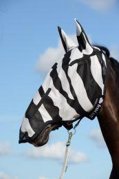 Bucas Buzz-Off Zebra Full Face Fliegenmaske