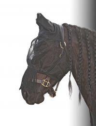 Harry's Horse Fliegennetz Gesichtsmaske Flyshield fringes