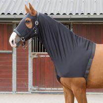 Harry's Horse Lycra Schulterschutz hooded schwarz