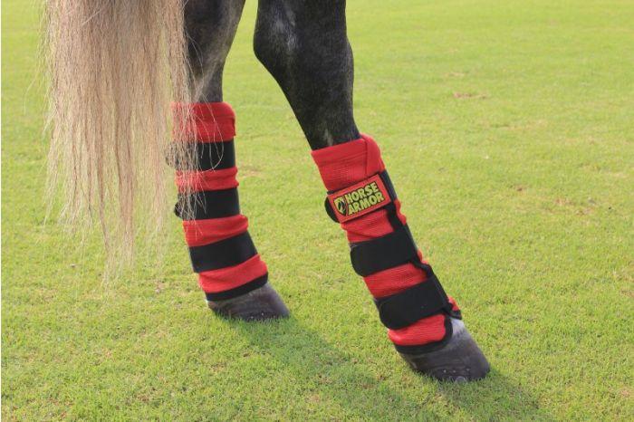 Hofman Horse Armour Knockdown Beinschutz Einheitsgröße (Insektenschutz)