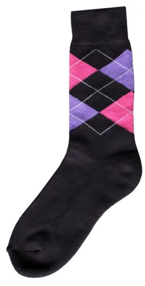 Hofman Rider Socke Grey/Purple 35/38