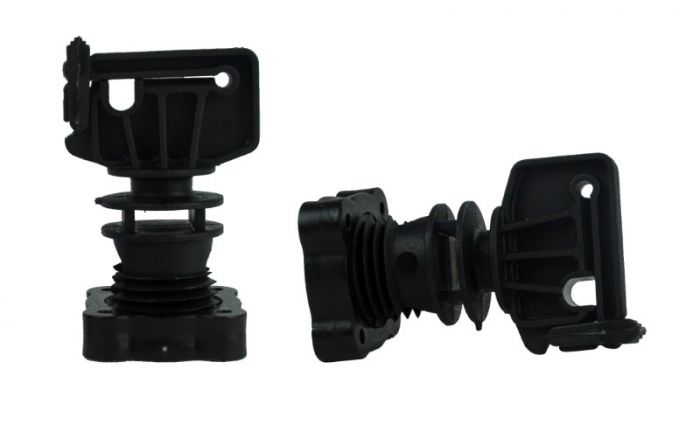 Hofman Isolator Schraubklemme für Rundpfosten ø 16mm, Band bis 30 mm