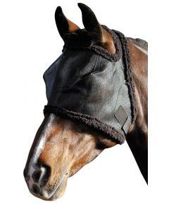 Harry's Horse Fliegenschutzmaske mit Ohrenaussparung, schwarz