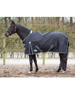 Harry's Horse Thor decke 0 gr mit schwarzem Fleecefutter
