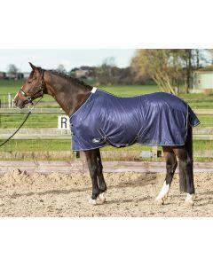 Harry's Horse fliegedecke Mesh, standardmassig mit Gurten, navy