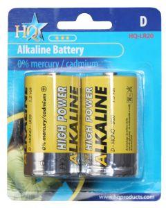 Hofman Batterieset Alkalische Größe: D PestGarden