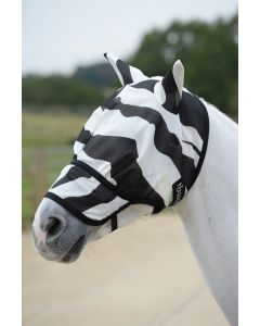 Bucas Buzz-Off Zebra Fliegenmaske mit Nase