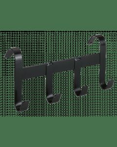Hofman Halfterhalter Metall mit 4 Aufhängehaken schwarz