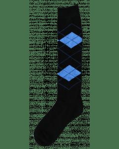 Excellent Kniestrümpfe RE schwarz / hellblau 43-46