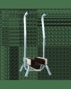 Hofman Fußkehrmaschine mit Handauflage