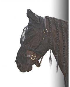 Harry's Horse fliegemaske Fliegenschutzfransen