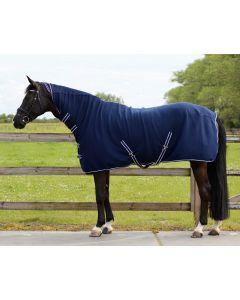 QHP Fleece rug basic with neck