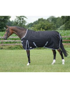 QHP Turnout rug 600D fleece lining