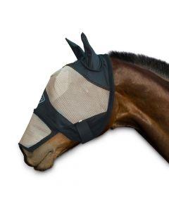 Sectolin Chetaime Fly Maske mit Ohren und abnehmbarer Nase