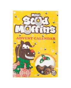 Stud Muffins AW18 24x12gr.Mini Muffins m / Kalender VE6