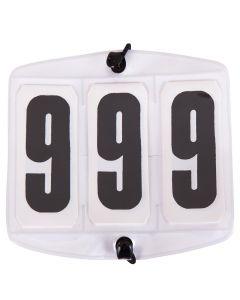 Startnummern weiß