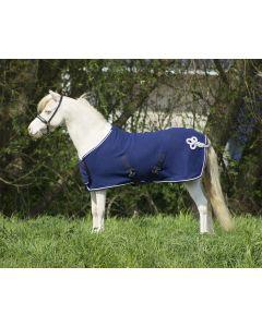 QHP Decke Fleece Ornament Falabella