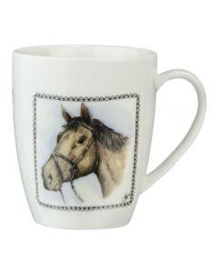 Hofladen Kaffeetasse Pferd