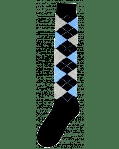 Excellent Kniestrümpfe RE d.blue / grau / blau 43-46