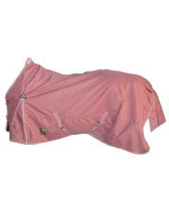 """MHS Sanft Decke mit Fleece """"Curly Pink"""""""