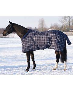 QHP Stabiler Teppich Luxus mit Fleece Kragen