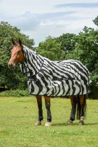 Bucas Buzz-off Zebra Full-Neck
