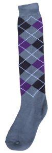 Hofman Kniestrümpfe RE 35/38 Purple/Silver
