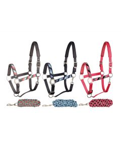 Harrys Horse Halfter set Ribbon