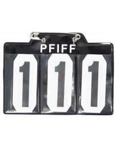 PFIFF Startnummer für schabrak