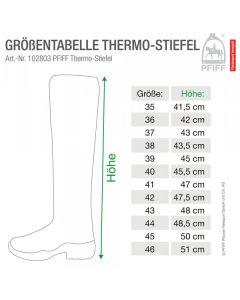 PFIFF Thermostiefel