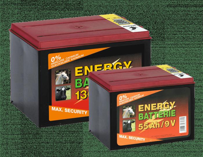 ZoneGuard Batterie EC super 9V / 130Ah